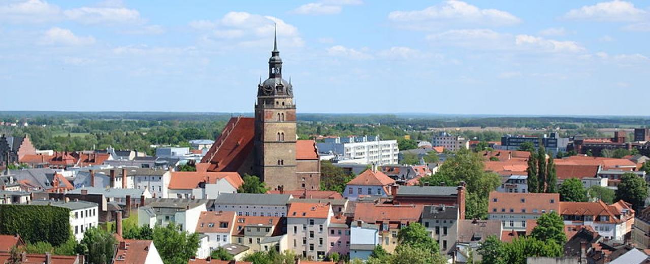 Brandenburg an der Havel vom Skyliner während der BUGA 2015, Fotograf: Queryzo